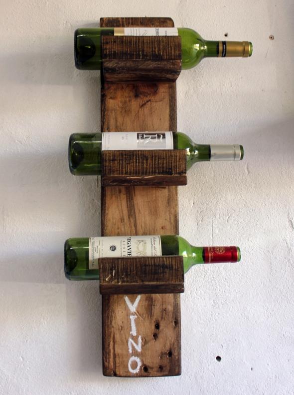 Botellero Vino – DiseñoMuebles con Palets